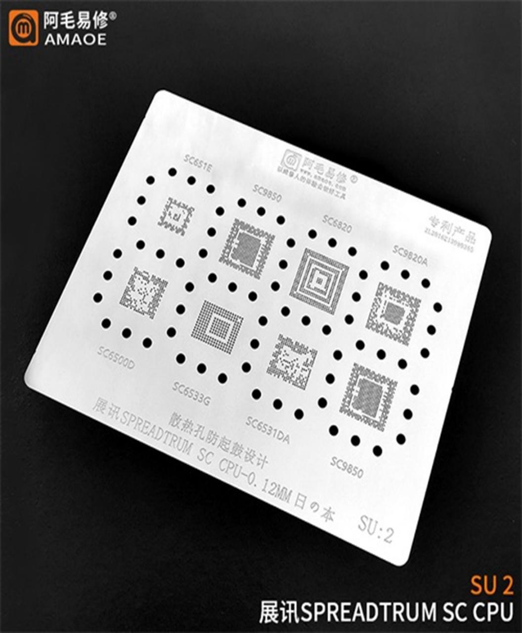 مجموعه شابلون های CPU سری SPD برند AMAOE