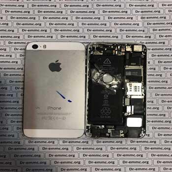 گوشی کامل آیفون iphone 5s بدون lcd جهت اوراق استفاده از قطعات