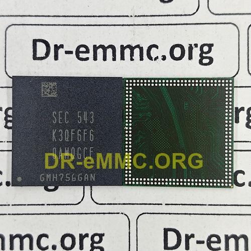 آیسی رم الجی LG K3QF6F60AMQGCF DRAM اورجینال