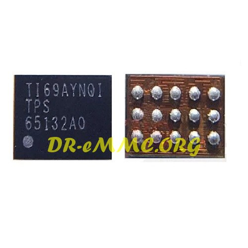آیسی تغذیه صفحه نمایش TPS65132A0 اورجینال