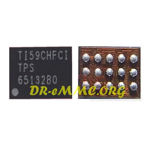 آیسی تغذیه صفحه نمایش TPS65132B0 اورجینال