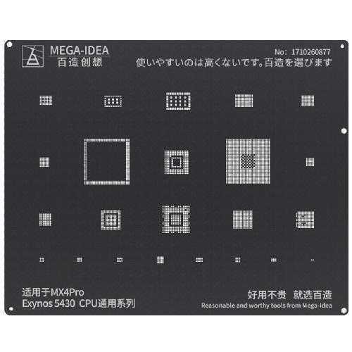 شابلون مشکی Exynos 5430 گوشی Meizu MX4 Pro برند MEGA-IDEA