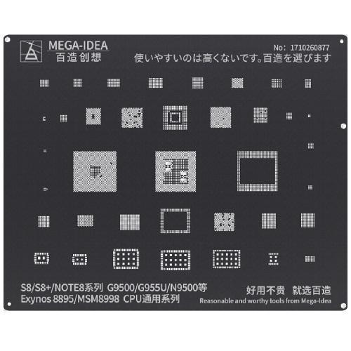 شابلون BZ 17 Exynos 8895 MSM8998 CPU for S8 S8+ NOTE8 Series G9500 G955U N9500