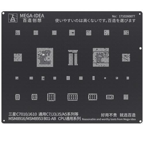 BZ 22 MSM8916 MSM8953 B01-AB CPU for Samsung C7010 J610 General Galaxy C7 J3 J5 A5 Series.