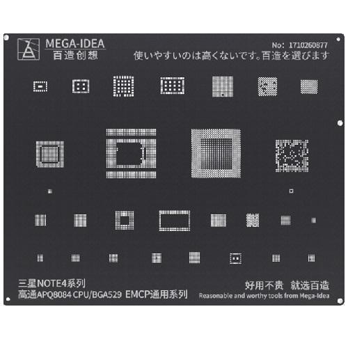 BZ 24 Qualcomm APQ8084 CPU BGA529 EMCP for Samsung NOTE4 Series