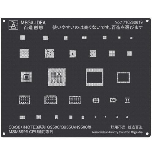 شابلون QL 26 MSM8996 CPU9 for S8 S8+ NOTE8,G9500 955U N9500
