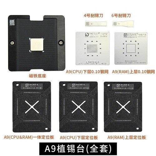 شابلون مگنتی CPU A9 آیفون ۶S , 6S Plus برند AMAOE