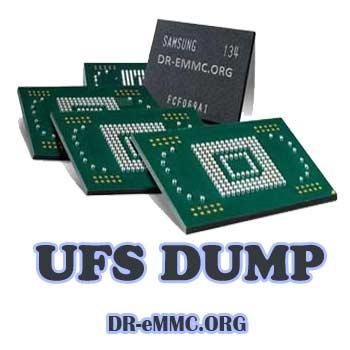 دامپ UFS تست شده هارد سامسونگ Samsung A505F باینری U7